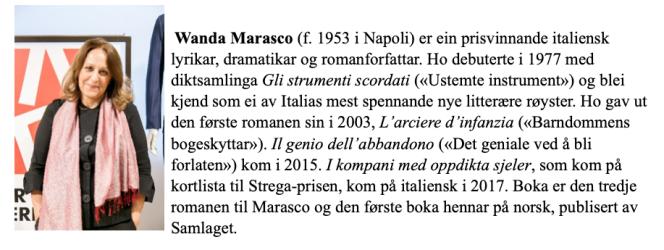 Wanda Marasco 1